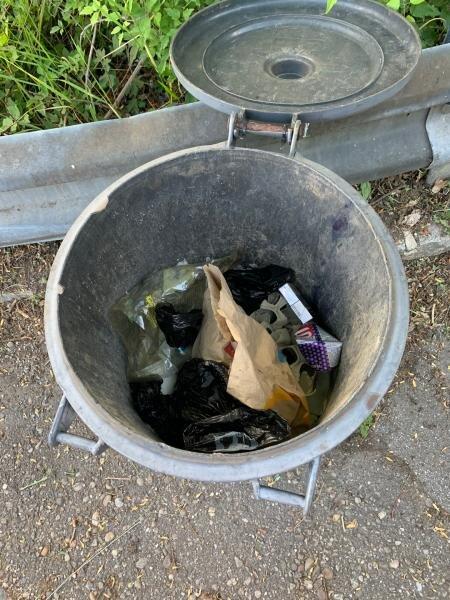 Mülltonne Vergessen
